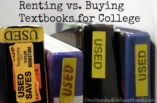 Buying papers for college renting