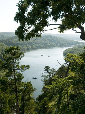Lake of the Ozarks - just beautiful and so peaceful.