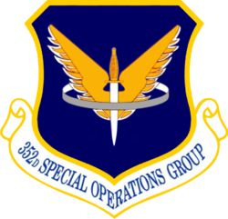 352d Special Operations Wing (352 SOW) is an operational unit of the United States Air Force Special Operations Command currently stationed at RAF Mildenhall, United Kingdom. The unit's heritage dates back to 1944 as an air commando unit.