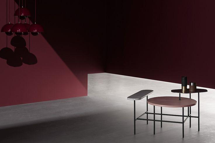 Palette Table JH6 av Jamie Rayon för &Tradition #&tradition #andtradition #marmorbord #soffbord