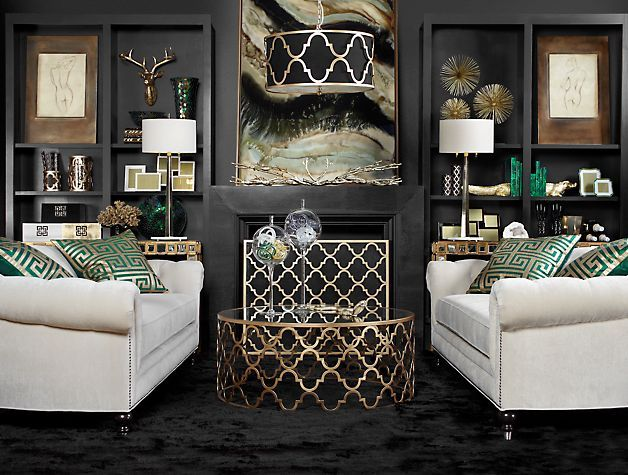 Meridian Fireplace Screen From Z Gallerie