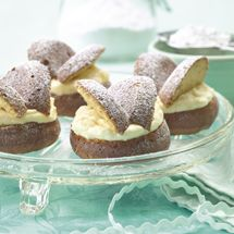 Ginger Sponge Butterfly Cakes