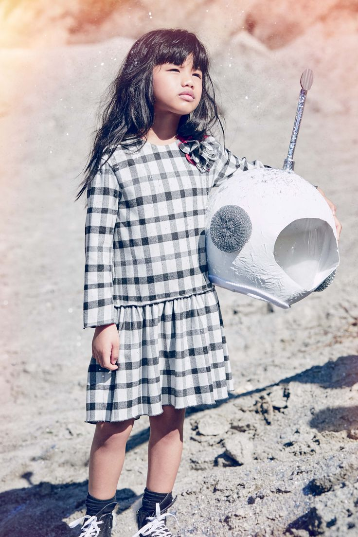 #Fashion #Children #Kids #Kidswear #Girls #Summer #Spring #GirlStyle #IlGufo #IlGufoMoms #FW16 #ilGufoSpaceJourney #ADV