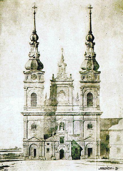 Projekt rozszerzenia klasztoru dominikanów w Tarnobrzegu. #klasztor #dominikanie #tarnobrzeg