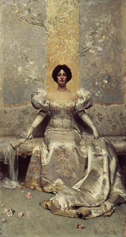 """Giacomo Grosso (Italian 1860–1930); """"La Femme"""", 1899."""