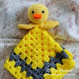 crochet lovey, lots of free patterns