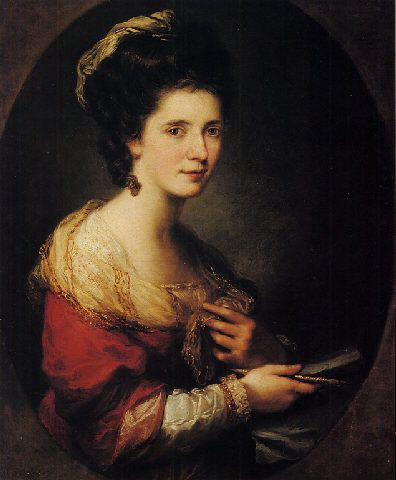 Angelica Kauffmann - Self Portrait: 1760's
