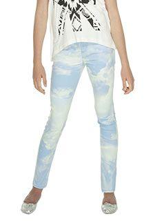 Urban Angel Pumpkin Patch kids fashion spring/summer collection 2013 cloud 9 print jeans