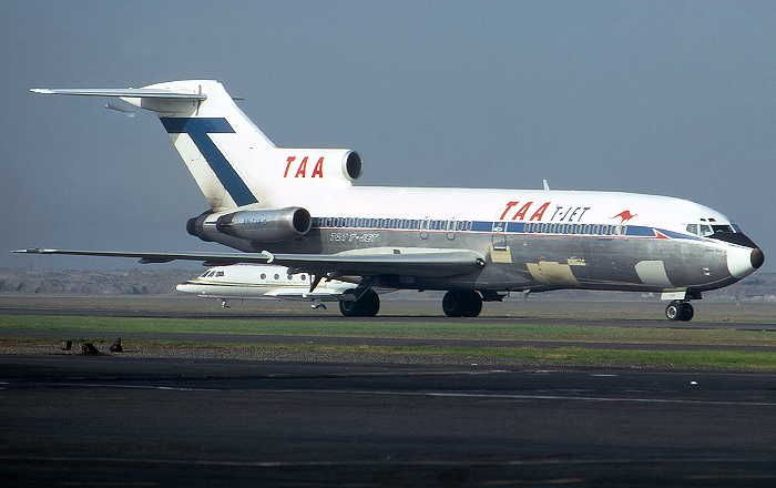 TAA - The Nations Jetline Boeing 727-76 (VH-TJA)
