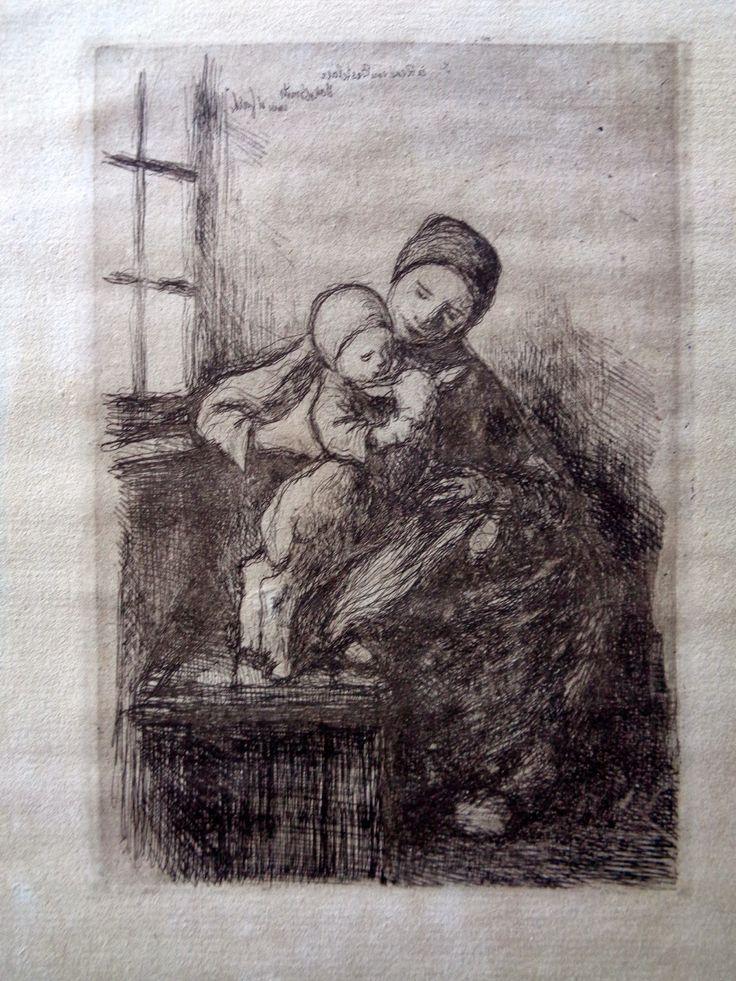 Grafiek uit De Antwerpse School: Smits, Jakob (1855 – 1929)