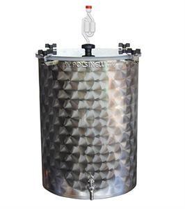 Fermentador acero inox 50L