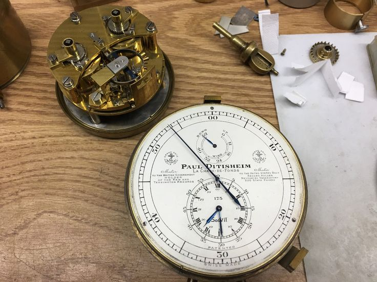 PuristSPro - This came onto my bench a few days ago. A superb marine chronometer by Swiss maker Paul Ditisheim in untouched condition, which is a rareity to see. This p