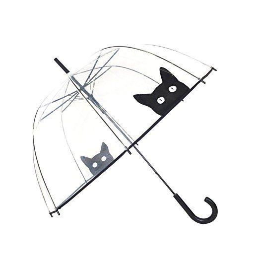 Parapluie transparent Chat - Susino