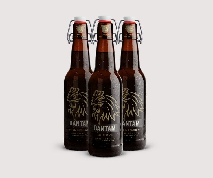 Bantam Craft Beer Packaging by Onfire Design