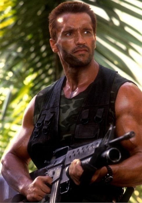"Predator - Major Alan ""Dutch"" Schaefer (Arnold Schwarzenegger)"