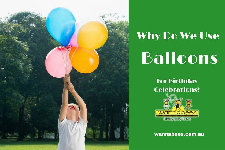 Balloons were first used for scientific experiments and transportation, but it wasn't long before they found its way into people's hands as fun instrument. http://wannabees.com.au/use-birthday-balloons/