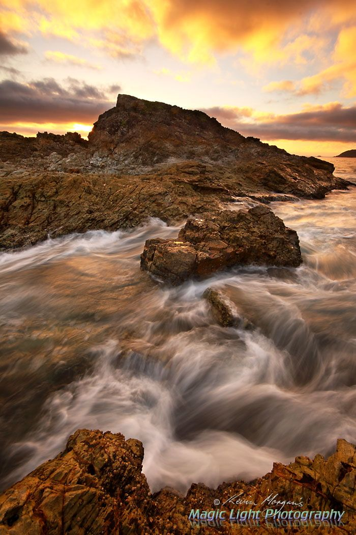 Cape Hawke Sunrise April 2014 by Kevin Morgan on 500px