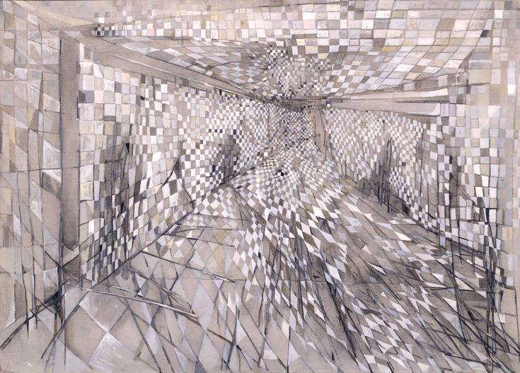 The Corridor, Maria Helena Vieira da Silva, 1950 Galerie Jaeger Bucher