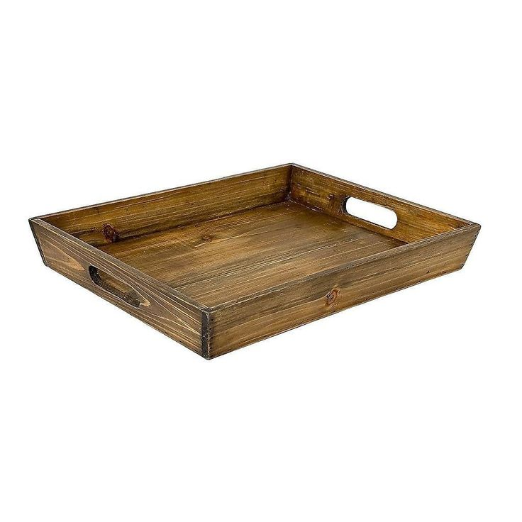 Wooden Breakfast Tray by Virginia Hayward - Make your Own Hamper Gift: Amazon.co.uk: Kitchen & Home