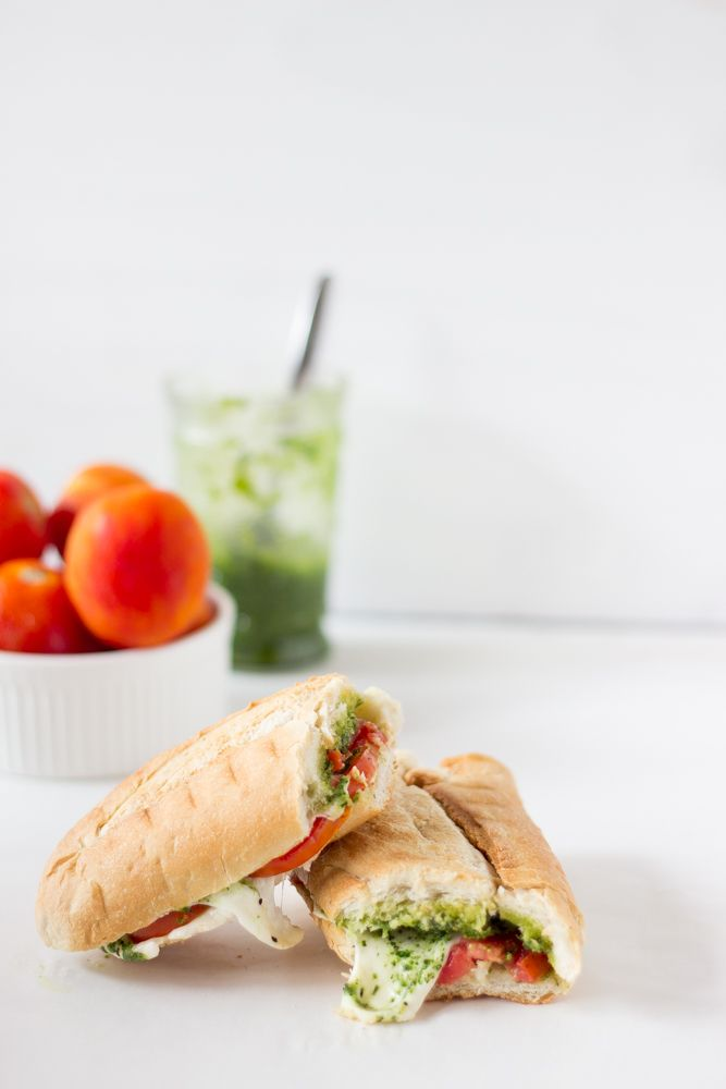 ... creamy parsley pesto. The sandwich is perfect for an everyday lunch or