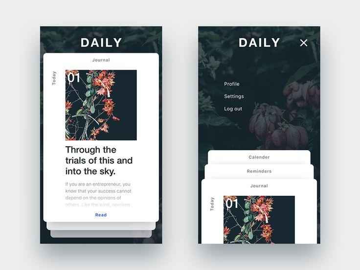 Daily by Justin Greene #Design Popular #Dribbble #shots