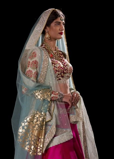 Anju Modi's collection features Persian theme at Amazon India Couture Week