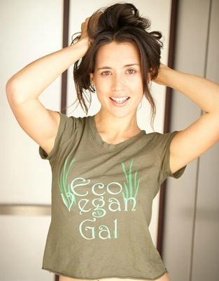 Eco Vegan t-shirt (organic)