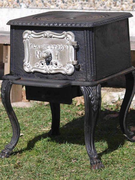 Historischer Ofen Kanonenofen - Klafreström No 4 von Pepita Antique Vintage Negozio auf DaWanda.com
