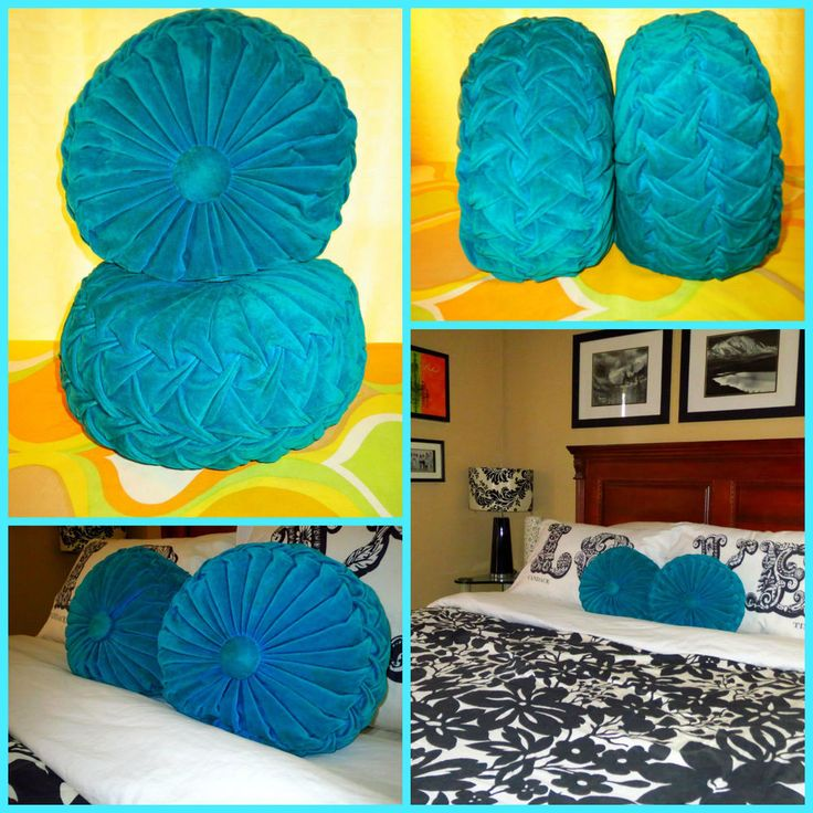 Mid Century Modern Round Pillow : 17 Best images about Pillows on Pinterest Yarns, Shag carpet and Bed throws