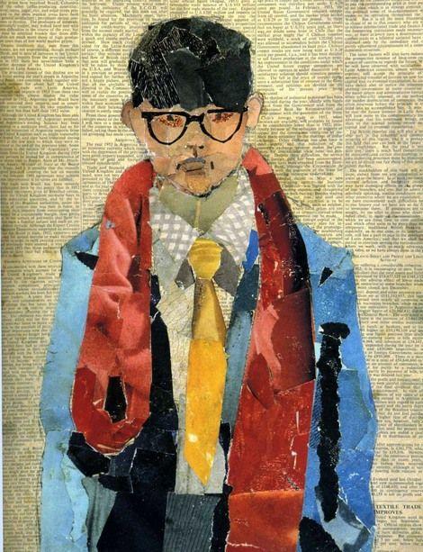 Self portrait, David Hockney, 1954