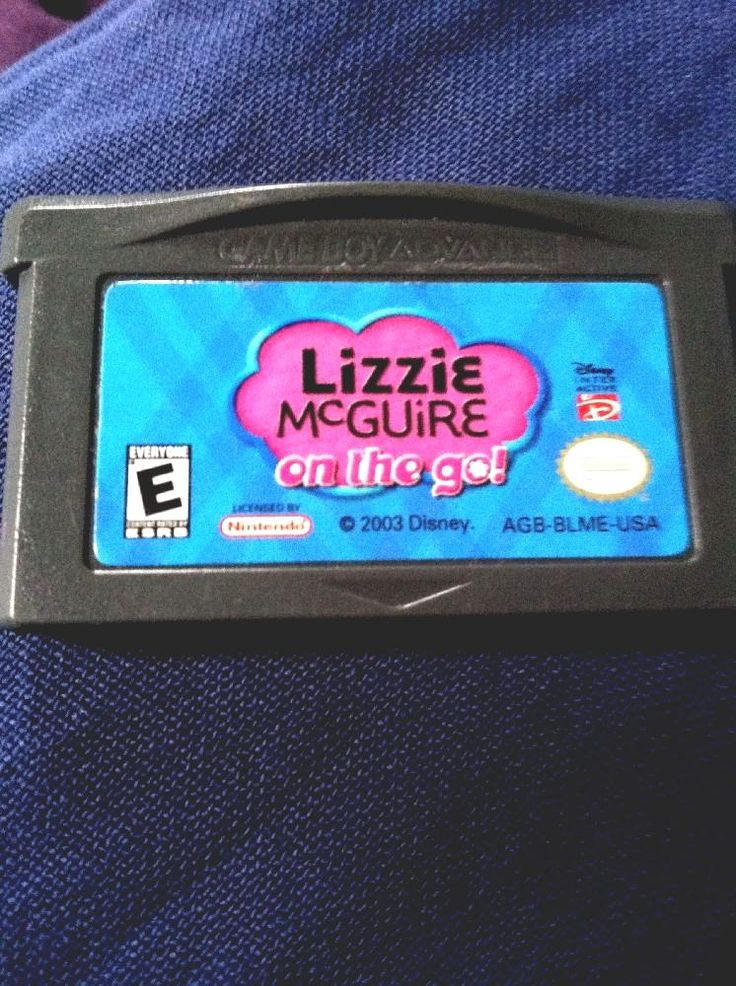 lizzie mcguire on the go #gameboy advance game only from $5.0
