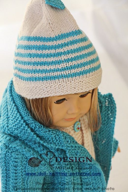 Knitting Patterns For 13 Inch Dolls : 1431 best images about Canadian & American girl free ...