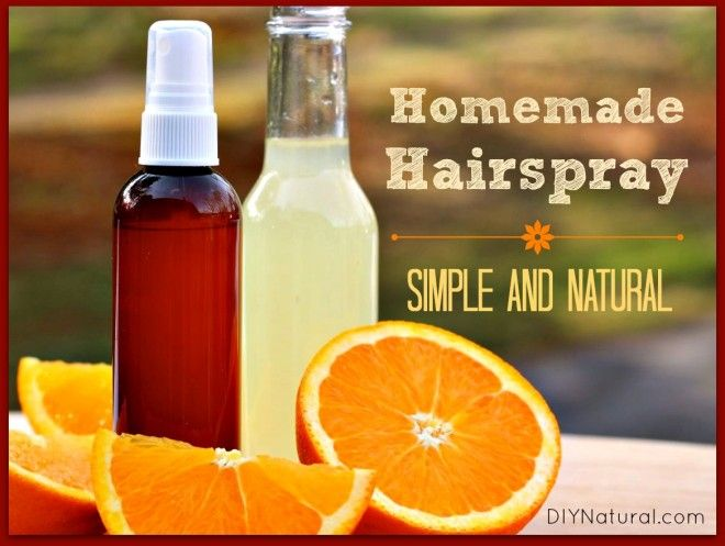 Does the idea of all the chemicals in cheap hairspray make you cringe? Chances are you may also find it hard to stomach the high prices of the natural brands. We have a solution. Make your own!