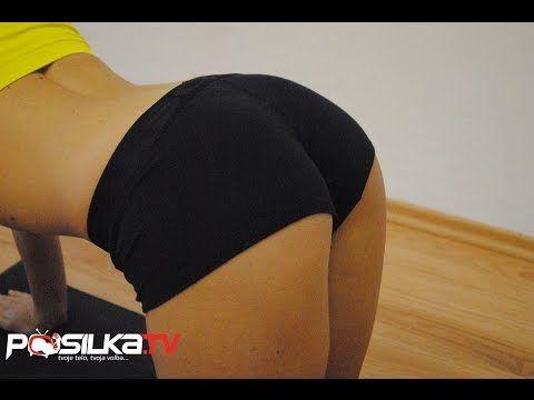 Tréning na zadok pre ženy - Ako schudnúť tuk - YouTube