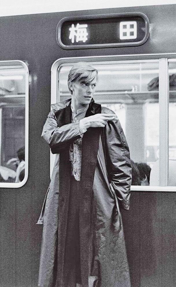 David Bowie.阪急電鉄