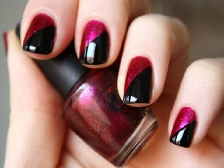 Cool Nail Designs To Do At Home Arrmaytey In 2018 Pinterest Nails And Art
