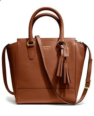 COACH LEGACY LEATHER MINI TANNER - Coach Handbags - Handbags Accessories - Macys