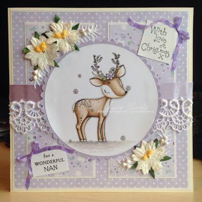 DT inspiration - Christmas Deer - All Dressed up Challenge blog: Birthday Blog…