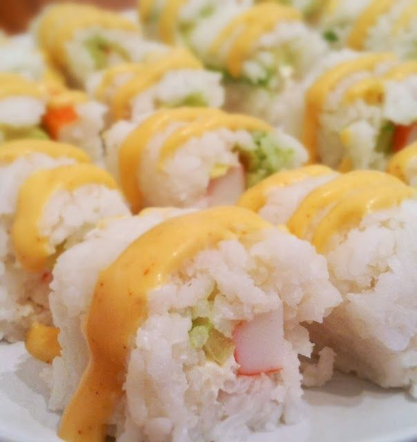 Homemade Sushi without Nori, for those of you who dislike the taste of seaweed