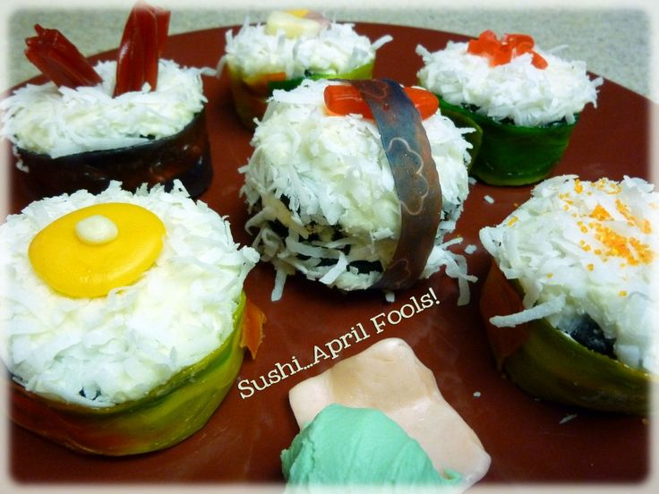 April Fools Day Sushi