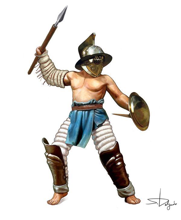 """0050 c. Gladiador """"Hoplomaco"""", Sandra Delgado"""