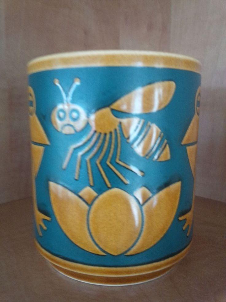 "HoHornsea Pottery Retro ""FROGS & WASP"" MUG - John Clappison - 70s - *VERY RARE* in Pottery, Porcelain & Glass, Pottery, Hornsea | eBay"
