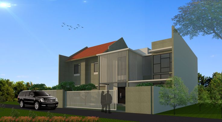 house project design  #architecture #render #vray #sketchup