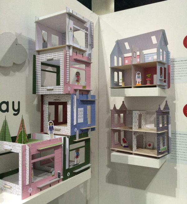 Lille Huset modern dollhouses