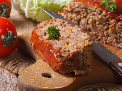 A classic Southern meatloaf recipe with a hint of Creole and Greek seasoning and covered in a rich tomato sauce. The ultimate comfort food.