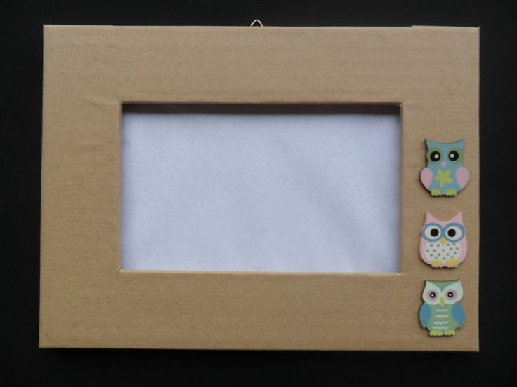 Handmade cardboard frames.. If you like them, visit my Dawanda shop :)