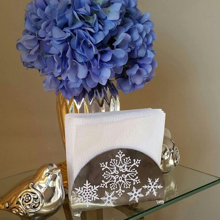 Porta servilletas elaborado a mano en cartulina