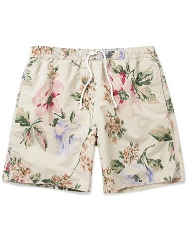 Hartford Flower Print Swim Shorts