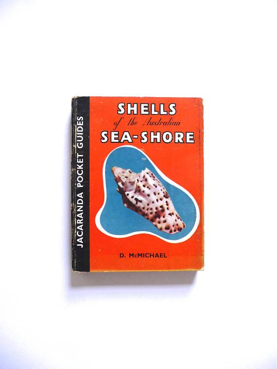 Shells of the Australian Sea-shore by D. McMichael Vintage