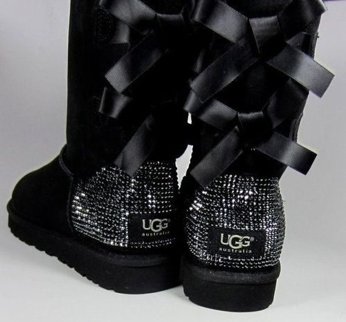 Black Ugg Boots fell in love with them